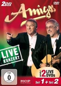 Amigos/Live Konzert Teil 1 und 2 (2DVD)