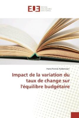 Impact de la variation du taux de change sur l'équilibre budgétaire