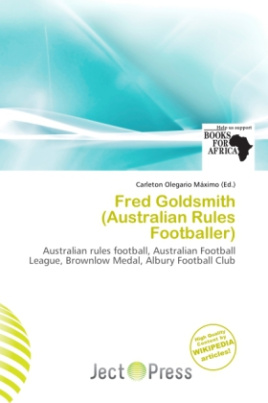 Fred Goldsmith (Australian Rules Footballer)