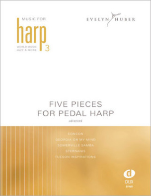 Five Pieces For Pedal Harp, advanced