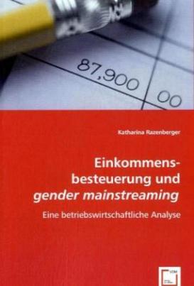 Einkommensbesteuerung und gender mainstreaming
