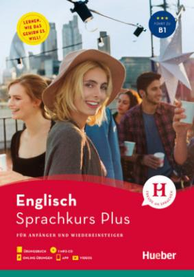 Hueber Sprachkurs Plus Englisch, m. MP3-CD