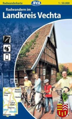 BVA Radwanderkarte Radwandern im Landkreis Vechta