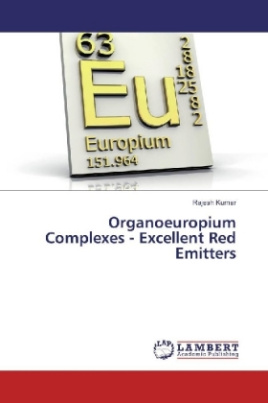 Organoeuropium Complexes - Excellent Red Emitters
