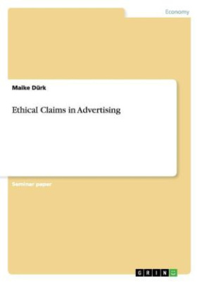 Ethical Claims in Advertising
