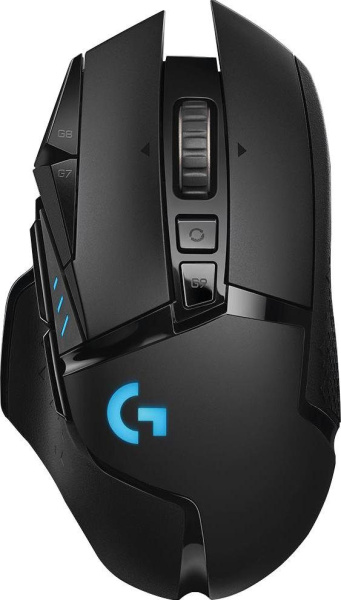 "LOGITECH Gaming-Maus ""G502 Lightspeed"" (Funk, Wireless, 16000 dpi)"