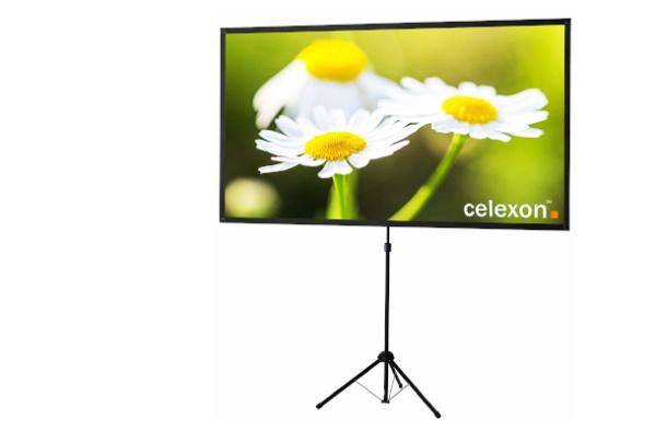 """CELEXON Leinwand """"Ultra-lightweight"""" (Stativleinwand, 177x100 cm)"""
