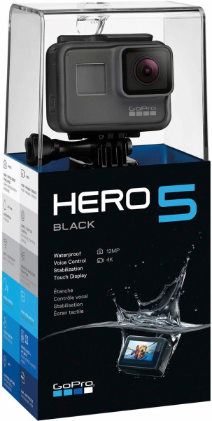 "GOPRO Action-Kamera ""HERO5 Black"" (12 Megapixel, Ultra-HD, WLAN, Bluetooth, GPS)"