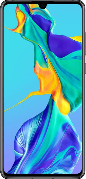 "HUAWEI Smartphone ""P30"" (6,1 Zoll, 128 GB, schwarz, 2019)"