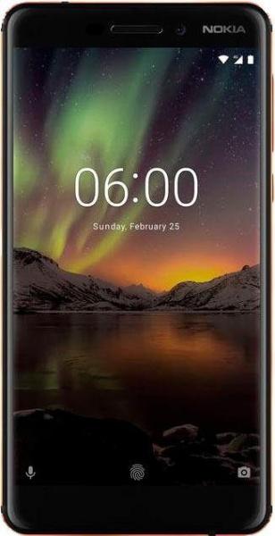 "NOKIA Smartphone ""6"" (5,5 Zoll, 32 GB, Android, LTE, schwarz, 2018)"