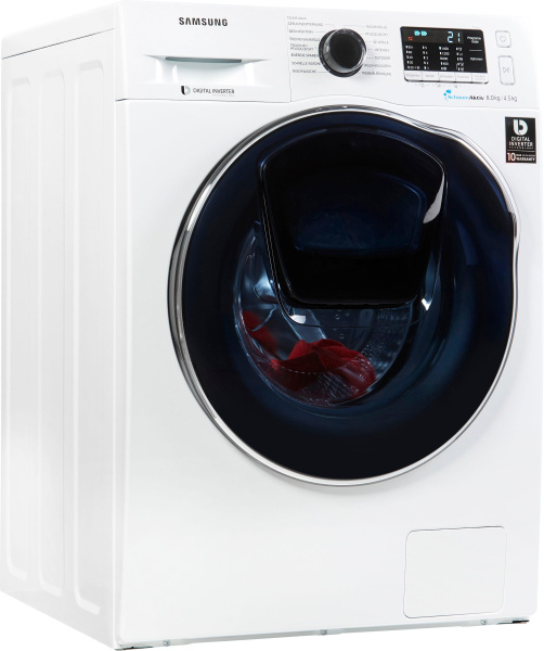 """SAMSUNG Waschtrockner """"AddWash WD5500 WD8EK5A00OW/EG"""" (A, 8kg/4,5kg)"""
