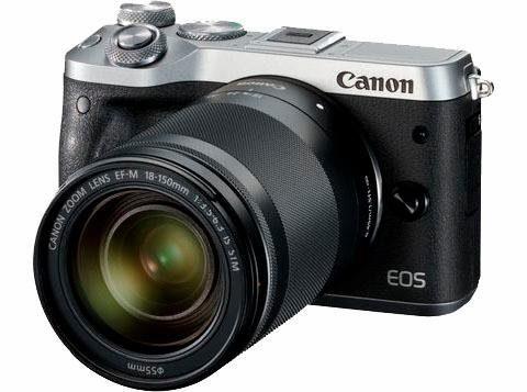"""CANON Kamera """"EOS M6"""" (24 MP, 18-150 mm, Wifi)"""