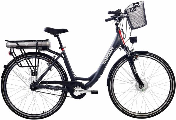 "TELEFUNKEN E-Bike ""RC657"" (City, 28 Zoll, RH49, Frontmotor, Damen)"