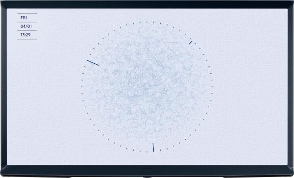 """SAMSUNG Fernseher """"Serif QE49LS01RB"""" (49 Zoll, QLED, 4K Ultra HD, Smart-TV, blau)"""