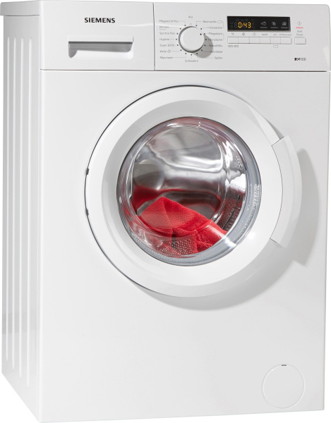 "SIEMENS Waschmaschine ""iQ100 WM14B2ECO"" (A+++, 6 kg, 1400 U/Min)"