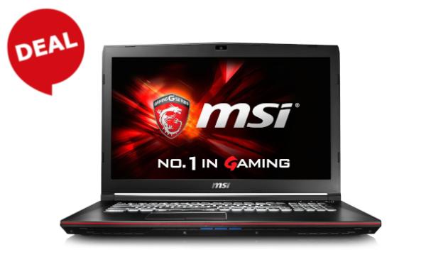 """MSI Gaming-Notebook """"Leopard Pro GP72 6QF"""" (i7-6700HQ, 17,3 Zoll, 256GB SSD + 1TB HDD)"""