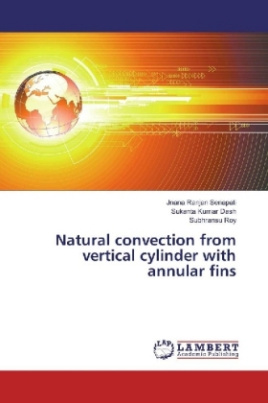 Natural convection from vertical cylinder with annular fins