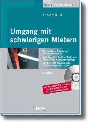 Umgang mit schwierigen Mietern, m. CD-ROM