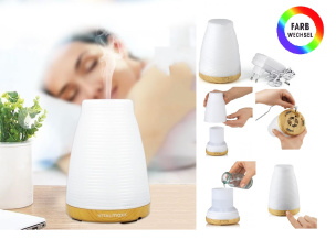 Aroma-Luftbefeuchter mit Farbwechsel