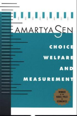 Choice, Welfare & Measurement