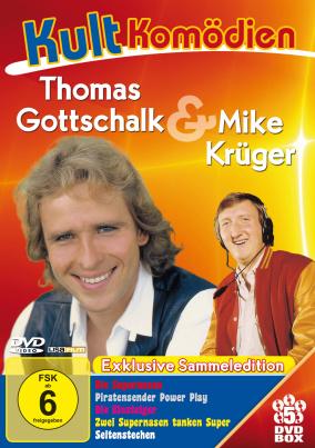 Kultkomödien - Thomas Gottschalk & Mike Krüger Sammeledition (5 DVDs)