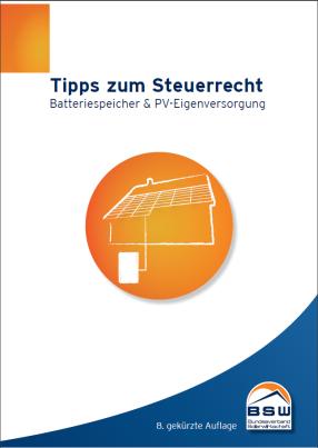 Steuermerkblatt Photovoltaik 8. Auflage