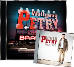 Wolfgang Petry - Brandneu + Achim Petry - Mein Weg