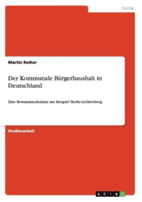 Der Kommunale Bürgerhaushalt in Deutschland