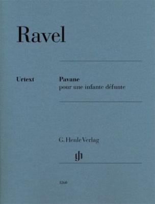 Pavane pour une infante défunte für Klavier zu zwei Händen