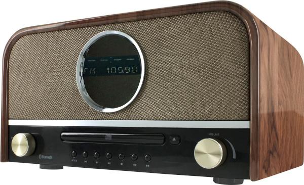 nostalgie stereo dab radio mit cd und bluetooth. Black Bedroom Furniture Sets. Home Design Ideas