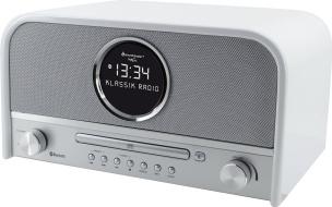 Nostalgie Stereo DAB+ Radio mit CD und Bluetooth  (weiß)