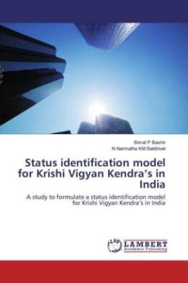 Status identification model for Krishi Vigyan Kendra's in India