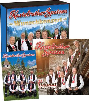 Wunschkonzert + Heimat, Deine Lieder + Mega-Fan-Aufkleber