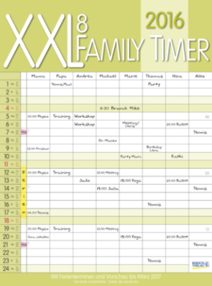 XXL Family Timer 8, 2016