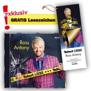 Tatort Liebe + EXKLUSIV Lesezeichen