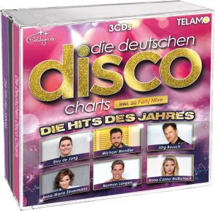 Die Deutschen Disco Charts - Die Hits des Jahres