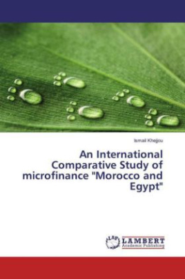 "An International Comparative Study of microfinance ""Morocco and Egypt"""