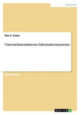 Unternehmensinterne Informationssysteme