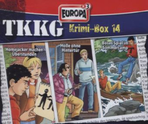 TKKG Krimi-Box 14, 3 Audio-CDs. Box.14