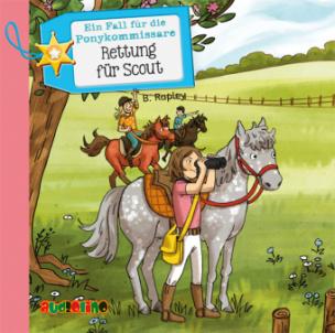 Ein Fall für die Ponykommissare: Rettung für Scout, 2 Audio-CDs