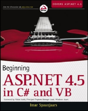 Beginning ASP.NET 4.5: in C sharp and VB