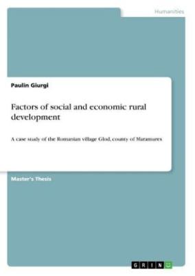 Factors of social and economic rural development