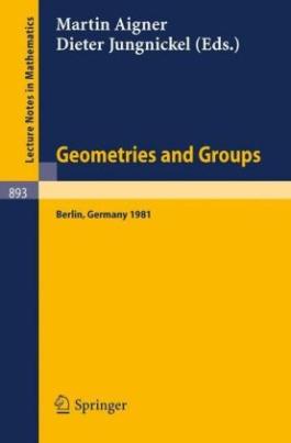 Geometries and Groups