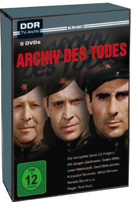 Archiv des Todes (DDR-TV-Archiv) (5DVD)