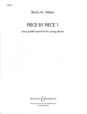 Piece by Piece, Violoncello und Klavier, Violoncellostimme. Vol.1