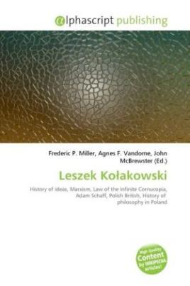 Leszek Ko akowski