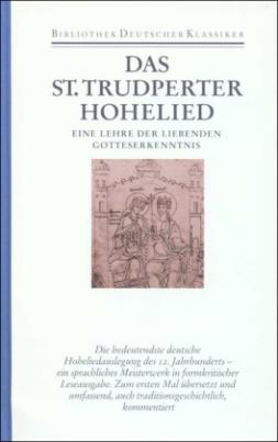 Das Sankt Trudperter Hohelied