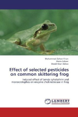 Effect of selected pesticides on common skittering frog