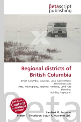 Regional districts of British Columbia