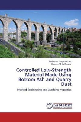 Controlled Low-Strength Material Made Using Bottom Ash and Quarry Dust
